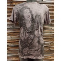 Tee shirt marron Shiva
