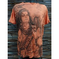 Tee shirt Shiva orange