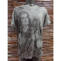 Tee shirt gris souris Shiva