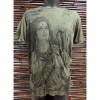 Tee shirt kaki Shiva