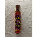 Briquet mandala eyes orange