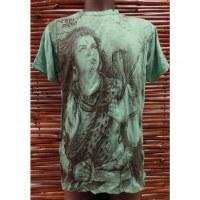Tee shirt vert Shiva