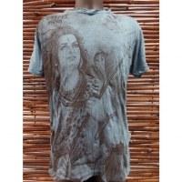 Tee shirt turquoise Shiva