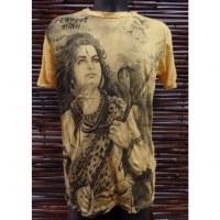 Tee shirt jaune Shiva