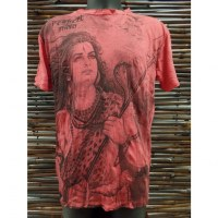 Tee shirt rouge Shiva