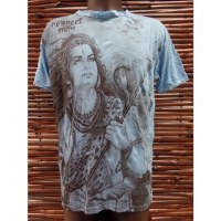 Tee shirt bleu ciel Shiva