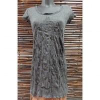 Mini robe gris foncé Bouddha Thaï