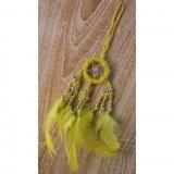 Dreamcatcher jaune mini Aat