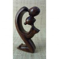 Sculpture abstraite les amants