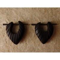 Boucles d'oreilles gravées I