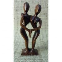 Sculpture abstraite les danseurs