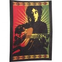 Petite tenture Bob Marley et sa guitare