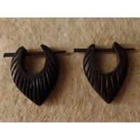 Boucles d'oreilles gravées II