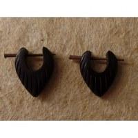 Boucles d'oreilles gravées III