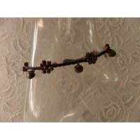Bracelet de cheville bronze flowers
