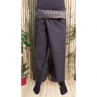 Pantalon Myanmar gris anthracite