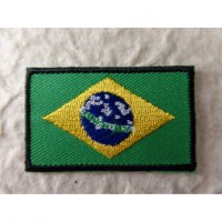Ecusson drapeau Brésil