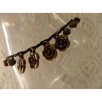Bracelet de cheville 4 roses