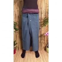 Pantalon Myanmar bleu