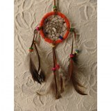 Petit dreamcatcher orange taak