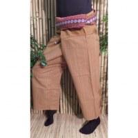 Pantalon Myanmar rouille