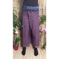Pantalon Myanmar lilas