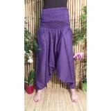 Pantalon Afghan violet