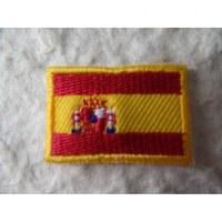 Ecusson drapeau Espagne