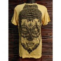 Tee shirt beautiful Bouddha jaune