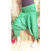 Pantalon Afghan vert