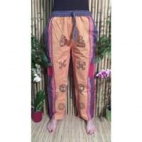 Pantalon Thamel jaune/rouge 2