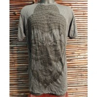 Tee shirt beautiful Bouddha anthracite