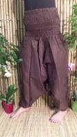 Pantalon Afghan marron foncé