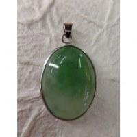 Petit cabochon jade vert pâle