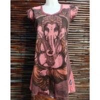 Tee shirt rouille majesté Ganesh