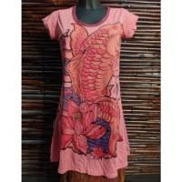 Tee shirt rose fish
