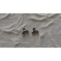 Boucles d'oreilles triskell 2