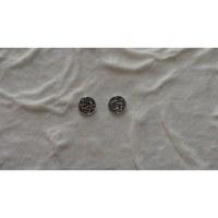 Boucles d'oreilles noeud infini