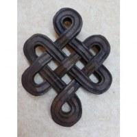 Petit noeud infini courbe en bois