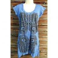 Mini robe bleue 4 khamsa