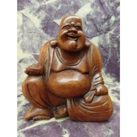 Bouddha Pu Tai au lingot d'or