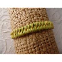Bracelet tali vert/jaune modèle 4