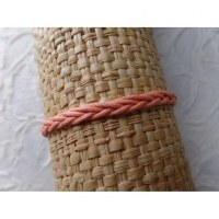 Bracelet 1 fil tali saumon modèle 5