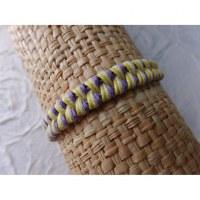 Bracelet tali pastel modèle 4