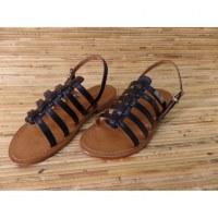 Sandales Tropéziennes havane noir