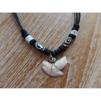 Collier perles spirale medewi