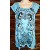 Mini robe bleue Ganesh batman