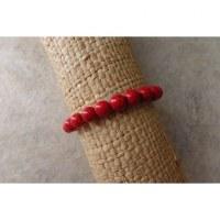 Bracelet mala corail rouge