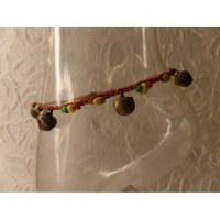 Bracelet cheville rakhang marron