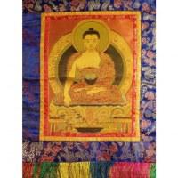 Tanka brodé Bouddha de la médecine